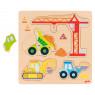 [Kirakós puzzle - Építőipari járművek]