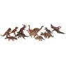 [Műanyag állatkák - dinoszauroszok 12db]