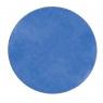 [Egyszínű szőnyeg, átmérő 1 m - kék]