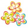 [Dekoráció - Virág, 3 db]