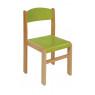 [Bükkfa szék - ülésmagasság 26 cm - zöld]