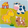 [3D puzzle kirakó- Farm]