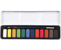 [Akvarell színek ecsettel, 12]