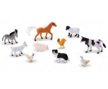 [Műanyag állatok - Állatok a farmró]
