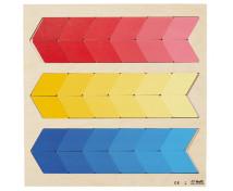 [Kirakós puzzle - Színek és alakzatok - piros, sárga, kék]