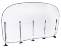 [Asztalra szerelhető elválasztó - nagy (50 x 106 cm)]