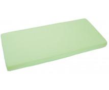 [Jersey, gumis lepedő, 140 x 70 cm - zöld]