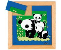 [Állatkás puzzle - anyák és kölykeik - Panda (8 dielikov)]