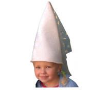 [Fejbáb - Meshősök- Fehér hercegnő kalap]