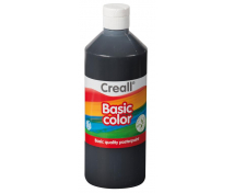 [Tempera festék - 500 ml - fekete]