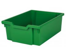 [Műanyag tároló, közepes - zöld]
