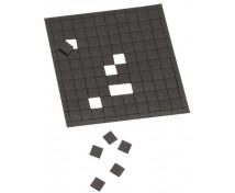 [Öntapadós mágneses négyzetek - 1 x 1 cm]