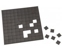 [Öntapadós mágneses négyzetek- 2 x 2 cm]