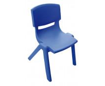 [Műanyag szék - magasság 38cm, kék]