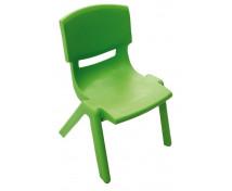 [Műanyag szék - magasság 38cm, zöld]