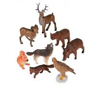 [Műanyag állatkák - az erdőben 8 db]