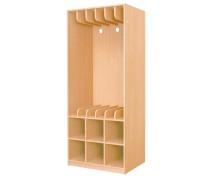 [Ágynemű,matrac és fektető tároló szekrények 6-Bükk]