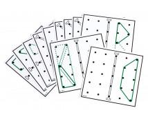 [Kártyák a geometriai táblához]