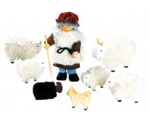 [Pásztor bárányokkal]