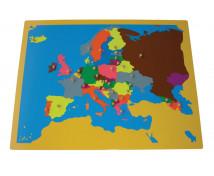 [Puzzle - Európa térkép]