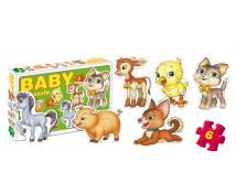 [Baby puzzle - háziállatok]
