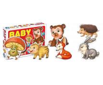[Baby puzzle - vadállatok]