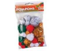 [Pompon - karácsonyi árnyalatok]