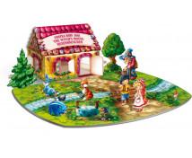 [3D puzzle - Mézeskalács ház]