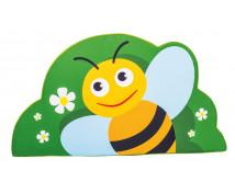 [Habszivacs dekoráció forma kicsi - méhecske 43cm]