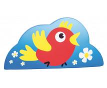 [Habszivacs dekoráció forma kicsi - madár 40cm]