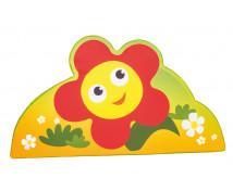 [Habszivacs dekoráció forma kicsi - virág 43cm]