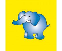 [Párna varázsmintával - elefánt 1]