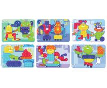 [Mozaik - Feladatkártyák - robotok - O 15 mm]