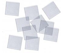 [Alátétek - 10 darab - kis négyzetek]