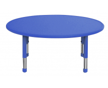 [Műanyag asztallap - Kör, kék]