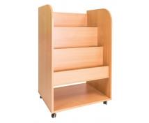 [Künyves szekrény / Gurulós 2 in 1 Bükk 1/2]