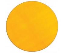 [Egyszínű szőnyeg, átmérő 2 m - sárga]