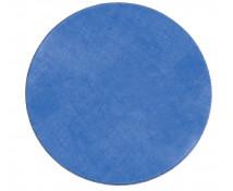 [Egyszínű szőnyeg, átmérő 2 m - kék]
