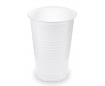 [Fehér, műanyag pohár, 100 db - 0,3 l]
