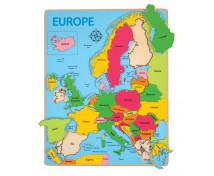 [Beillesztő puzzle - Európa térképe]