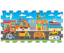 [Oktató puzzle 5 az 1-ben - Közlekedési eszközök]