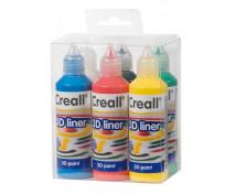 [3D művészfesték 6x80 ml]