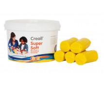 [Creall - ultra puha gyurma - sárga 1750g]