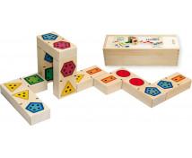 [3D dominó számok - formák]