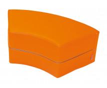 [HULLÁM ülőke - narancssárga 30cm]