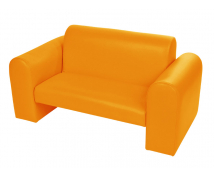 "[""Exclusive"" kettes kanapé narancssárga]"