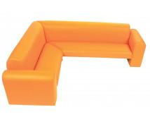 """[""""Exclusive"""" sarok kanapé narancssárga]"""
