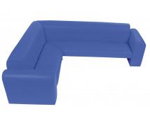 """[""""Exclusive"""" sarok kanapé kék]"""