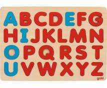 [Montessori puzzle kirakó ABC]
