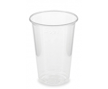 [Bioműanyag pohár, 100 db]